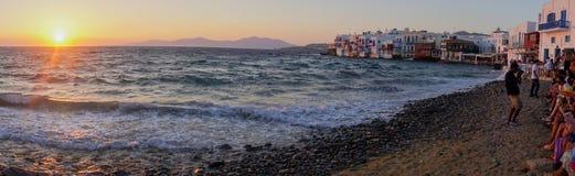 Mykonos Fotografie Stock Libere da Diritti