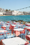 Mykonos. Amazing Greece with blue skies Stock Images