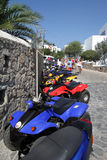 Mykonos Buggies - Greek Islands Royalty Free Stock Photo