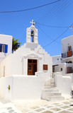Mykonos Chapel Stock Photos