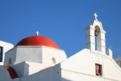 Mykonos Church Royalty Free Stock Photos