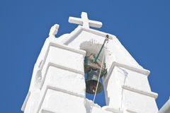Mykonos Church Bell Royalty Free Stock Photo