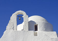Mykonos church Royalty Free Stock Image