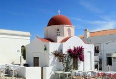 Mykonos Church Stock Image
