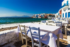 Mykonos corner Stock Photos