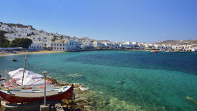 Mykonos, Cyclades, Grèce Photographie stock