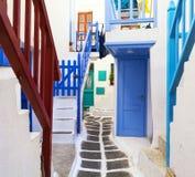 Mykonos, Cyclades, Grèce Photo stock