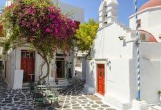 Mykonos, Cyclades, Grèce Image libre de droits