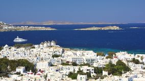 Mykonos, Cyclades, Greece Royalty Free Stock Photography