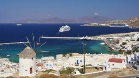 Mykonos, Cyclades, Greece Stock Photos