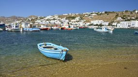 Mykonos, Cyclades, Greece Royalty Free Stock Images