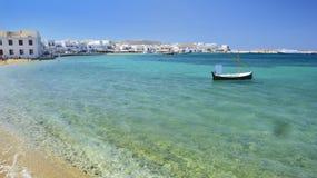 Mykonos, die Kykladen, Griechenland Lizenzfreies Stockbild