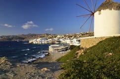 Mykonos, die Kykladen, Griechenland Lizenzfreie Stockbilder
