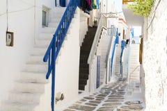 Mykonos, die Kykladen, Griechenland Stockbilder