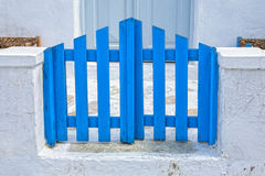 Mykonos Gate Stock Images