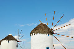 Mykonos greci dell'isola Immagini Stock