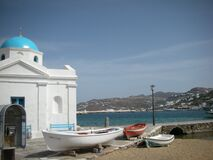 Mykonos Greece Royalty Free Stock Photo