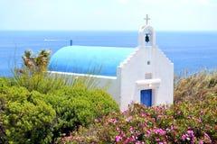 Mykonos, Greece. Above Kala Livade beach, Mykonos, Greece Stock Photography