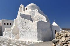 Panagia Paraportiani church in Mykonos Stock Photography