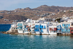 Mykonos, Greece. White houses in Mykonos, Greece Royalty Free Stock Photo