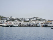 Mykonos greköar Royaltyfria Bilder