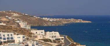 Mykonos/Grekland Arkivbilder