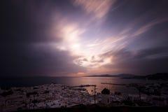 Mykonos Grekland Royaltyfria Foton