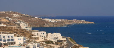 Mykonos/Griechenland Stockbilder