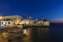 Mykonos hörn Royaltyfri Foto