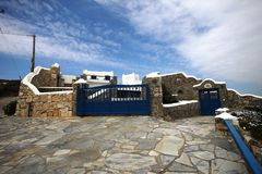 Mykonos house Royalty Free Stock Image