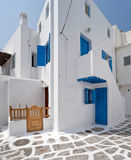 Mykonos houses Stock Photo