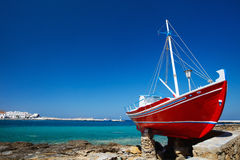 Mykonos Insel stockbilder