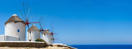 Mykonos Insel stockfotografie