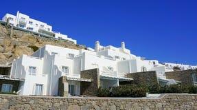 Mykonos-Insel - Architektur lizenzfreies stockbild