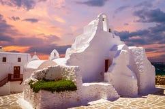 Mykonos-Insel, die Kykladen, Griechenland Stockfotos