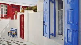 Mykonos - Insel in Griechenland Lizenzfreie Stockfotos