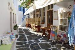 Mykonos Insel, Griechenland Lizenzfreie Stockfotos