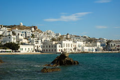 Mykonos island Royalty Free Stock Photos