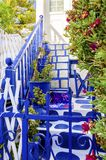 Mykonos island architecture, Greece Royalty Free Stock Photos