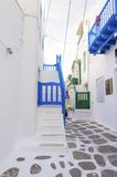 Mykonos island architecture, Greece Stock Images
