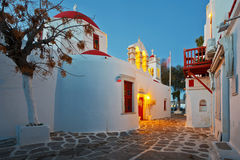 Mykonos island. Royalty Free Stock Photography