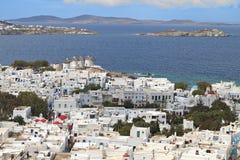 Mykonos island in Greece Stock Photo