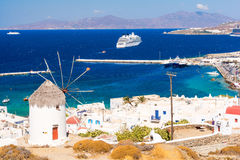 Mykonos island in Greece, Cyclades Stock Photography