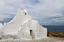 Mykonos island in Greece Stock Image