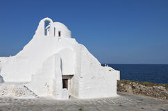 Mykonos island in Greece Royalty Free Stock Image