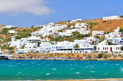 Mykonos island, Greece Royalty Free Stock Photography