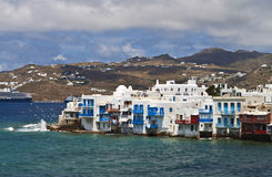 Mykonos island in Greece Royalty Free Stock Photography