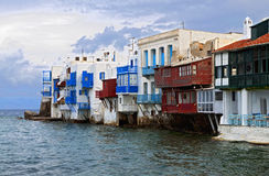 Mykonos island in Greece Royalty Free Stock Photo