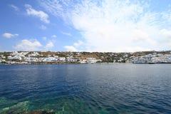Mykonos island in Greece Stock Image