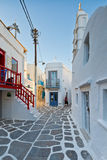 Mykonos island. Royalty Free Stock Images